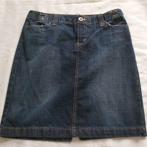 Lei jean skirt